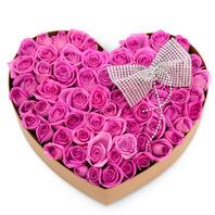 핑크장미하트박스