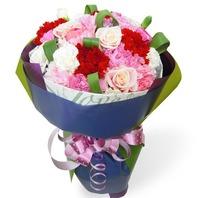 핑크카네이션꽃다발