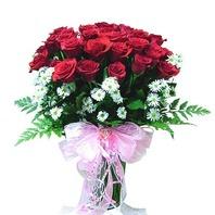 붉은장미 꽃다발